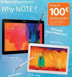 [Bon Plan] Samsung Galaxy Tab , Samsung Galaxy Note,  les meilleures promotions