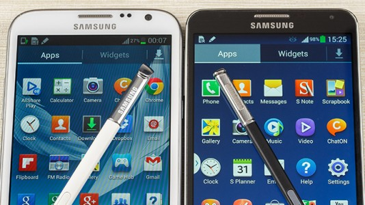 [Meilleur prix] Samsung Galaxy Note 2/Galaxy Note 3 : o� les acheter en ce 28/08/2014 ?