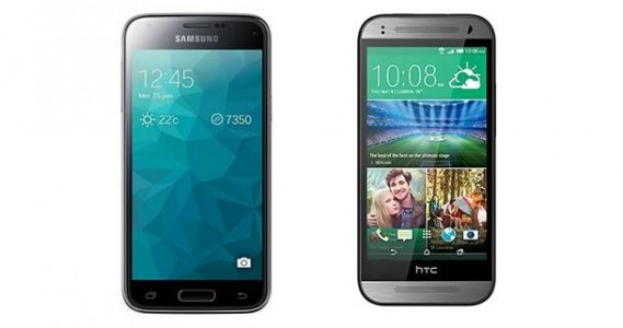 [Comparatif] Samsung Galaxy S5 Mini vs HTC One Mini 2