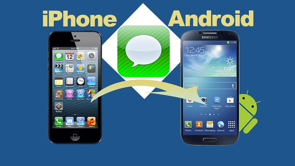 Transferer Sms Android Vers Iphone