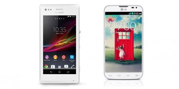 Comparatif Sony Xperia M vs LG L70