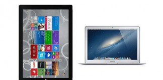 Comparatif Surface Pro 3 vs MacBook Air
