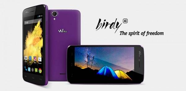 [Smartphone] Wiko Birdy : la 4G à 129,90€