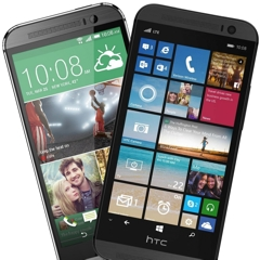 [Battle] HTC One M8 Android vs HTC One M8 Windows Phone