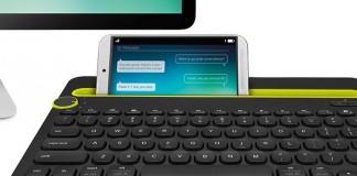 La Keyboard K480 est le tout premier clavier compatible avec les trois principaux appareils informatiques : les ordinateurs, les smartphones et les tablettes.