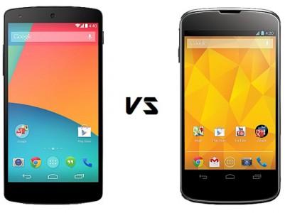 Nexus 5 / Nexus 4 : o� l'acheter au meilleur prix ce 20 septembre 2014 ?