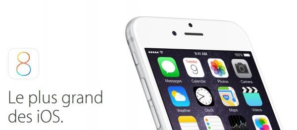 iOS 8 sort le 17 septembre !