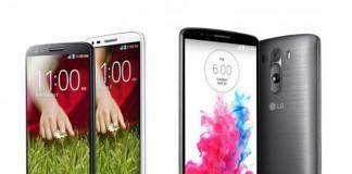 Le LG G2 et le LG G3 vous intéressent ? MeilleurMobile a identifié les meilleurs prix chez les commerçants en ligne ce 25 septembre 2014.