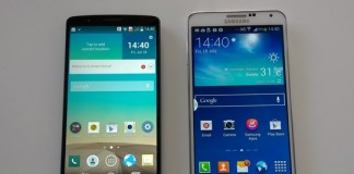 Samsung Galaxy Note 4 VS LG G3 : le comparatif