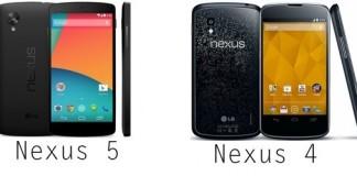 Nexus 5/Nexus 4 : où l'acheter au meilleur prix en ce 14 septembre 2014 ?