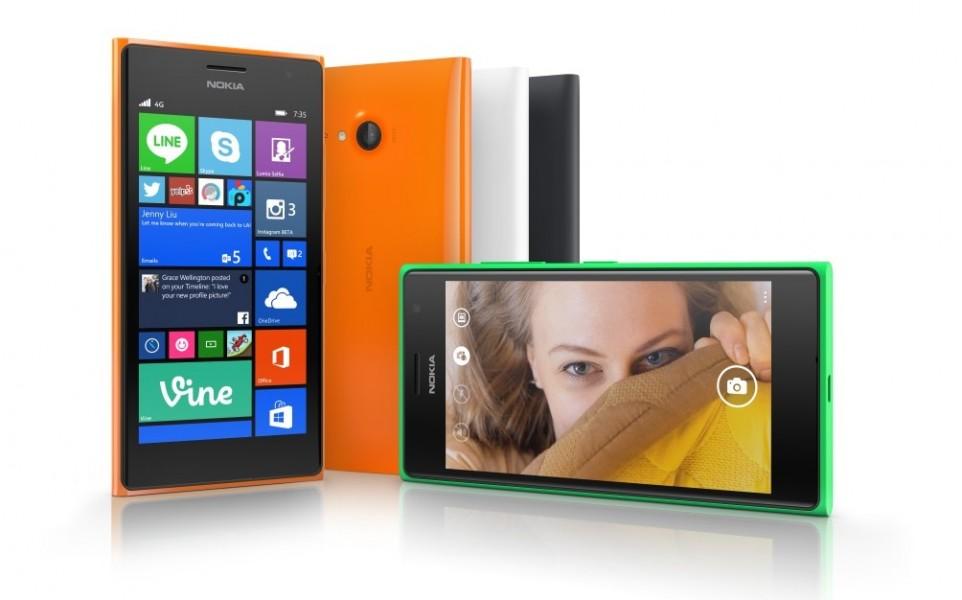 [IFA 2014] Nokia Lumia 730/735, des smartphones pour les selfies !