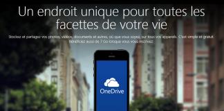 iPhone 6 : OneDrive de Microsoft offre 15 Go