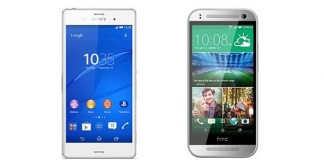 Sony Xperia Z3 Compact vs HTC One Mini 2 : le comparatif
