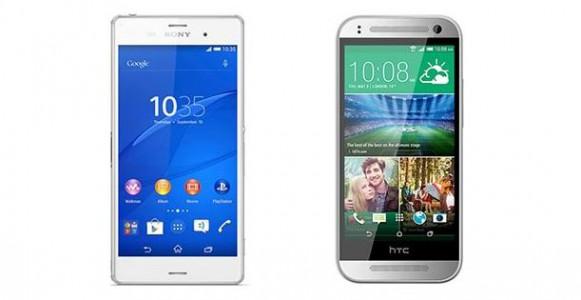 Sony Xperia Z3 Compact vs HTC One Mini 2 : le comparatif