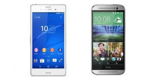 Sony Xperia Z3 vs HTC One M8 : le comparatif