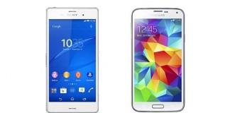 Sony Xperia Z3 vs Samsung Galaxy S5 : le comparatif