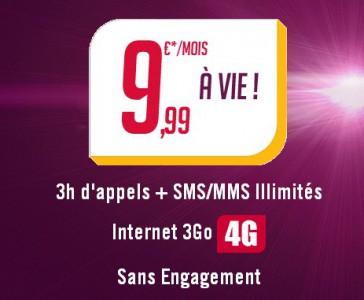 [Bon Plan] ExcessDays de Virgin Mobile : un forfait à 9.99€ !