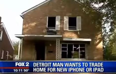 Troquer sa maison contre un iPhone 6, l'incroyable initiative d'un Américain