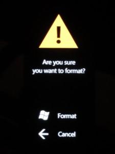 Méthode 2 : forcer la remise à zéro de votre Windows Phone