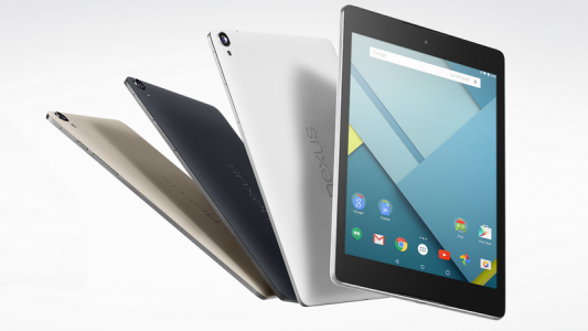 Google Nexus 9 disponible en pr�commande