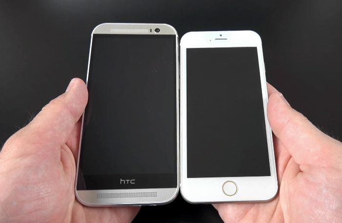 htc one m8 vs iphone 6 iphone 6 vs htc one m8 le comparatif meilleur mobile 6974
