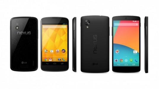 Prix Nexus 5 / 4 : o� les acheter pas cher en ce 26 octobre
