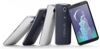 Nexus 6 gris champagne noire