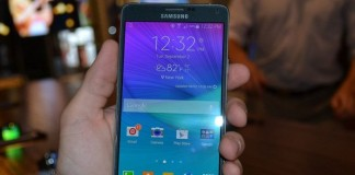 Samsung Galaxy Note 4 a aussi son problème de fabrication