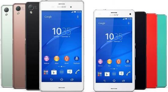 Sony Xperia Z3 / Z3 Compact et Z2 : o� les acheter moins cher en ce 30 Octobre