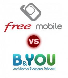 Free VS B&YOU, quel est le meilleur op�rateur ?