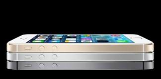 iphone 5s en trois couleures