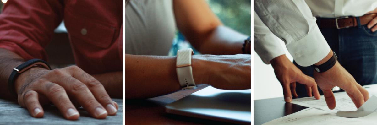 olive bracelet connecté stress
