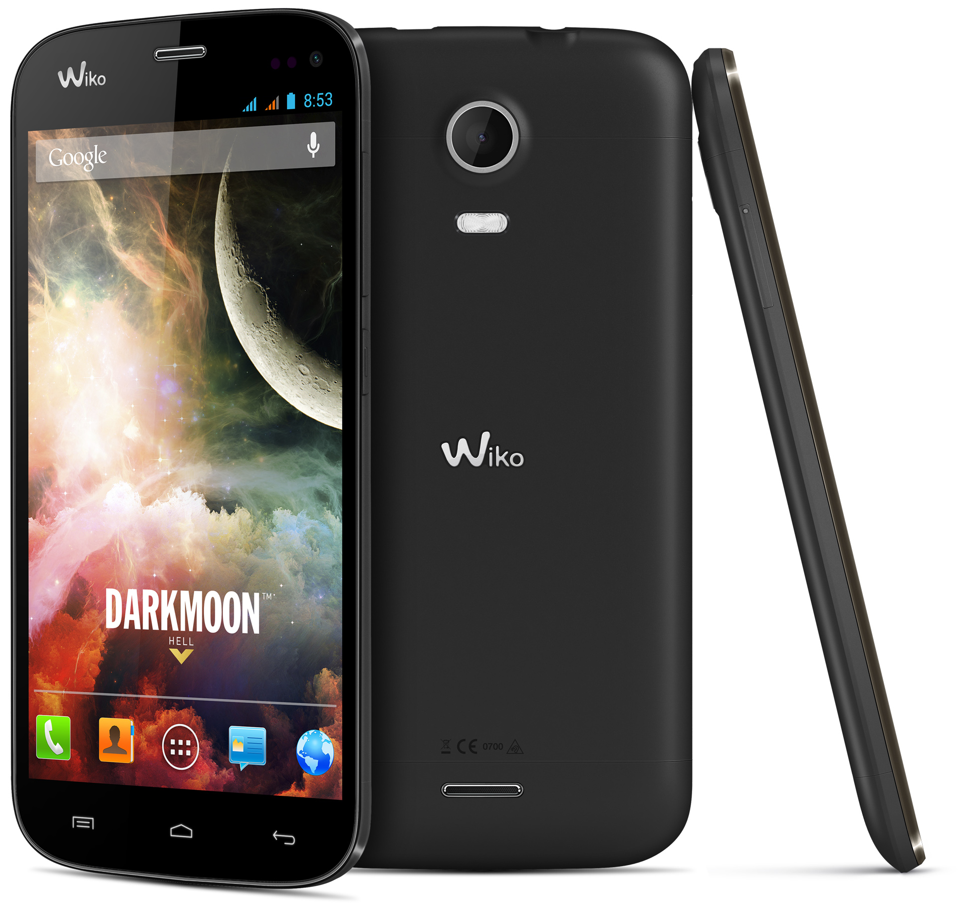 test wiko darkmoon un smartphone pour moins de 150. Black Bedroom Furniture Sets. Home Design Ideas