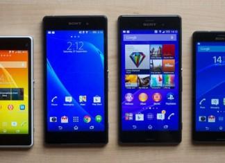 Sony Xperia Z3 / Z3 Compact et Z2 : où les acheter moins cher en ce 9 Octobre