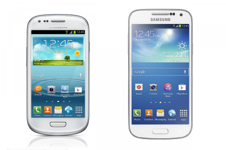 Samsung Galaxy S4, S4 Mini
