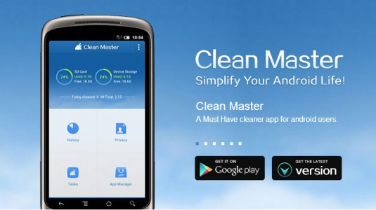 clean master application