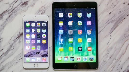 iPhone 6 Plus iPad Mini