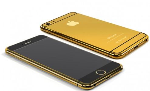 Un iPhone 6 en or vendu 7 300 $