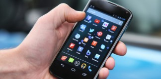smartphone android interface