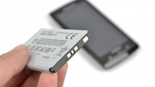 téléphone portable batterie