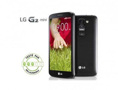 Test du LG G2 mini, un t�l�phone 4G � moins 200�