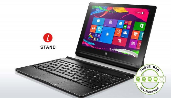 test lenovo yoga tablet 2 une tablette windows de 10 pouces meilleur mobile. Black Bedroom Furniture Sets. Home Design Ideas