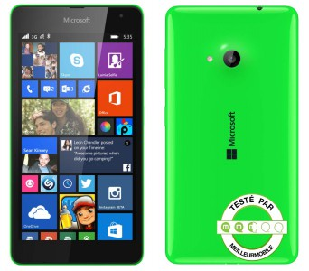 Test Microsoft Lumia 535 , le premier smartphone post Nokia