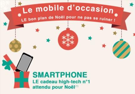 Smartphones d'occasion : faites des économies pour Noël