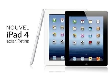 L'iPad 4 Retina est � seulement 299.95� !