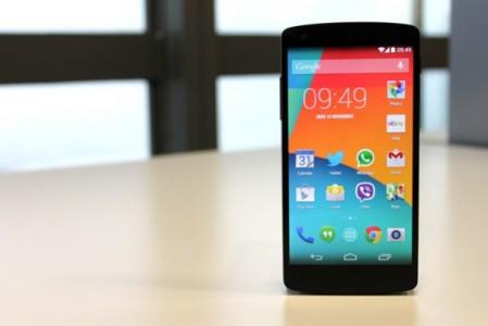 Nexus 5 : il est toujours possible de l'acheter malgr� sa fin annonc�e