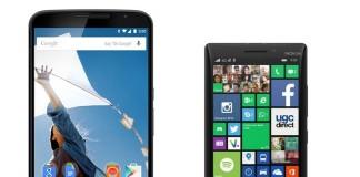 nexus 6 vs nokia lumia 930
