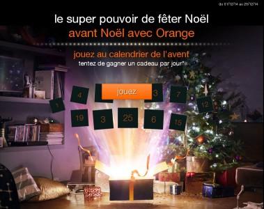 Orange vous fait gagner un cadeau par jour !