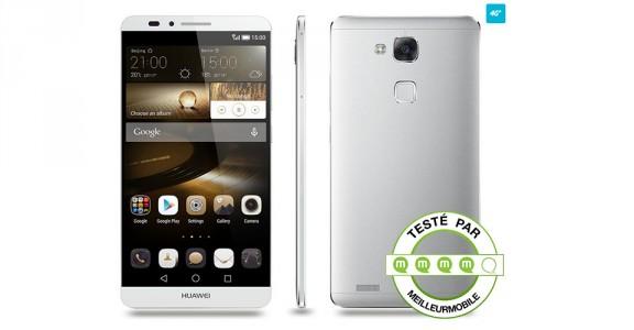 Test Huawei Ascend Mate 7 , le meilleur rapport qualit� prix ?