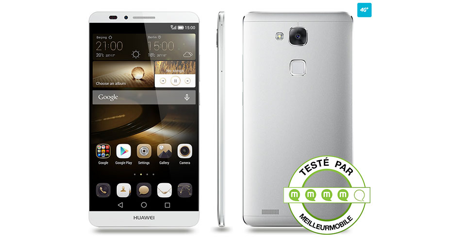 test huawei ascend mate 7 le meilleur rapport qualit. Black Bedroom Furniture Sets. Home Design Ideas